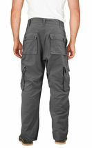 Men's Tactical Combat Military Army Work Twill Cargo Pants Trousers w/ Defect image 3