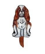 Blenheim King Charles Spaniel Pendulum Clock - $41.57