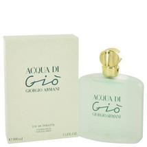 ACQUA DI GIO by Giorgio Armani Eau De Toilette  3.3 oz, Women - $75.11
