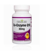 Co-Enzyme Q10 30mg 30 softgels Natures Aid - $13.00