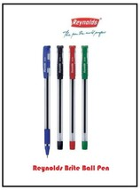 Reynolds Brite 0.7mm Ball Point Smooth Writing Pen Office Free Ship (5 Pcs) - $3.92