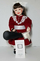 Hamilton Collection 1993 Hillary My First Recital Fine Porcelain Doll CO... - $34.49