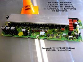 Panasonic TH-42PD50U SS / X-Main Board TNPA3544 - [See List]  - $27.00