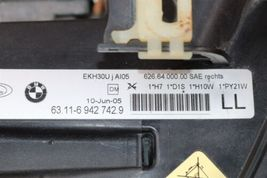 06-08 BMW E90 330i 4dr HID Xenon AFS Adaptive Headlight Passenger Right RH image 9