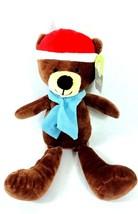 Animal Adventure Christmas Holiday Plush Teddy Bear  - $8.00