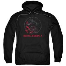 Mortal Kombat X - Bloody Seal Adult Pull Over Hoodie Officially Licensed... - $34.99+
