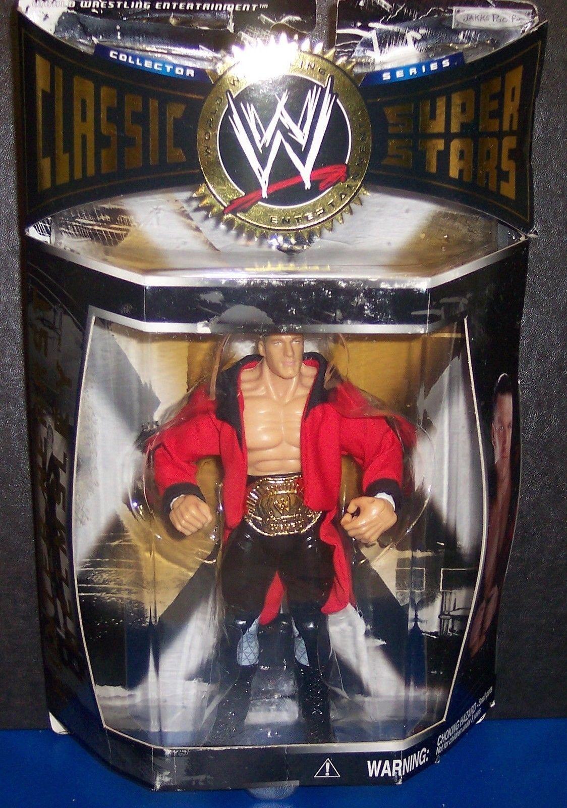 "NEW! 2004 Jakk's Classic Superstars Series #1 ""Triple HHH"" Action Figure {1404}"
