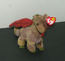 Ty Beanie Babies SCORCH Dragon Plush Toy - $8.98