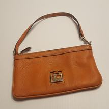Dooney & Bourke Wristlet Orange Leather - $28.00