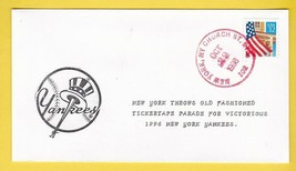 NEW YORK YANKEES TICKER TAPE PARADE NEW YORK CHURCH STREET STA. OCT 29 1996 - $2.98