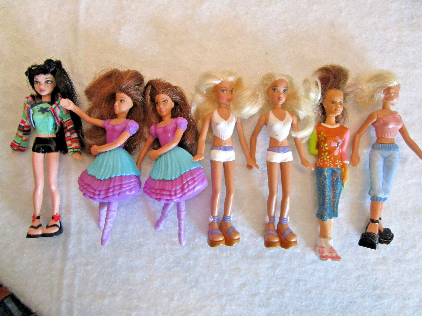 d381e0188 McDonalds TOY LOT * 7 mini BARBIE DOLLS and 50 similar items