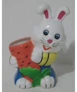Children's Desk Pen & Pencil Holder Rabbit with Carrot, Plastic - $2.11