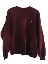Champion Crewneck Burgundy Red Sweatshirt Eco Fleece Pullover 2XL NWOT - $28.50
