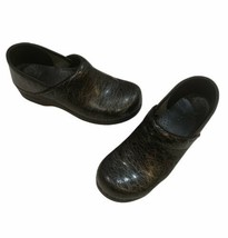 Dankso Womens Black Wired Slip On Shoes Nursing Clogs Size 41 - $49.49