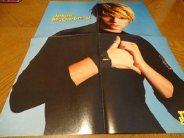 Jesse Mccartney Good Charlotte teen magazine poster clipping bangs Bop - $3.50