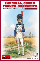 Miniart Models - 16017 - Imperial Guard French Grenadier Napoleonic Wars - $20.99