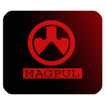 Mouse Pad Magpul Logo American Design With Black Red Colour For Game Animation - $9.00