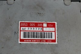 87-90 Jeep Cherokee XJ 4.0 4X4 Auto Transmission Control Module TCM 8953-005-305 image 2