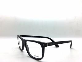 Prada VPR 03R-F 1BO-1O1 Matte Black New Authentic Eyeglasses 53mm 18mm 1... - $83.67