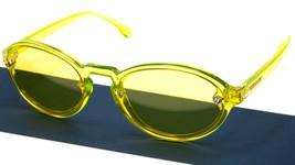New Versace 4352 5282/85 Transparent Yellow /LENS Sunglasses 54-19-140 B40 Italy - $118.80