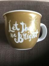 Starbucks Coffee Mug 2014 Tea Cup Let There Be Bright 14 fl oz fluid ounce - $12.00