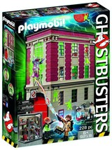 NEW! Boys Pretend Play 6 Years - And Up Playmobil Ghostbusters Firehouse US - $123.73