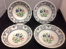 """Johnson Brothers """"PROVINCIAL"""" Set of 4 - 6 1/2"""" Coupe Cereal Bowls - $15.48"""