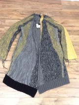 $1,695 ST.JOHN Women's Dara Frayed Tweed Coat Size XL - $558.85