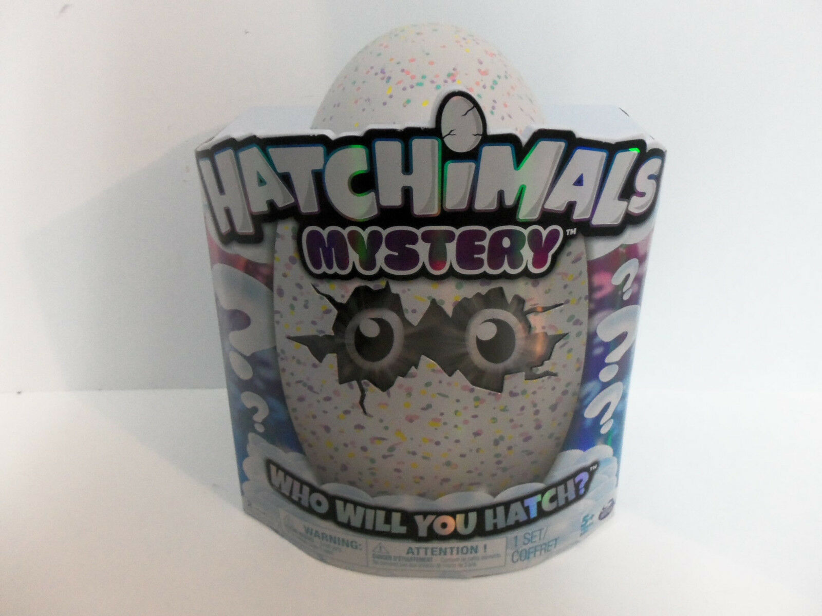 "Hatchimals Mystery ""Who Will You Hatch?"" Hatching Egg with Interactive Creature"