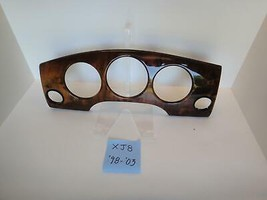 2000 Jaguar XJ8 VDP Wood Dash Gauge Bezel Factory Original Used OEM Part - $24.70