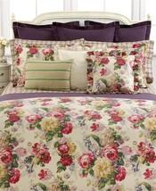 $142 New Ralph Lauren Surrey Garden Floral Twin Bed Skirt Rose Purple Sage - $14.85
