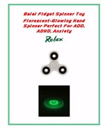 2pc Lot Fidget Spinner-Glow in the Dark Spinner Buy at WHOLESALE-US SELLER - $6.99