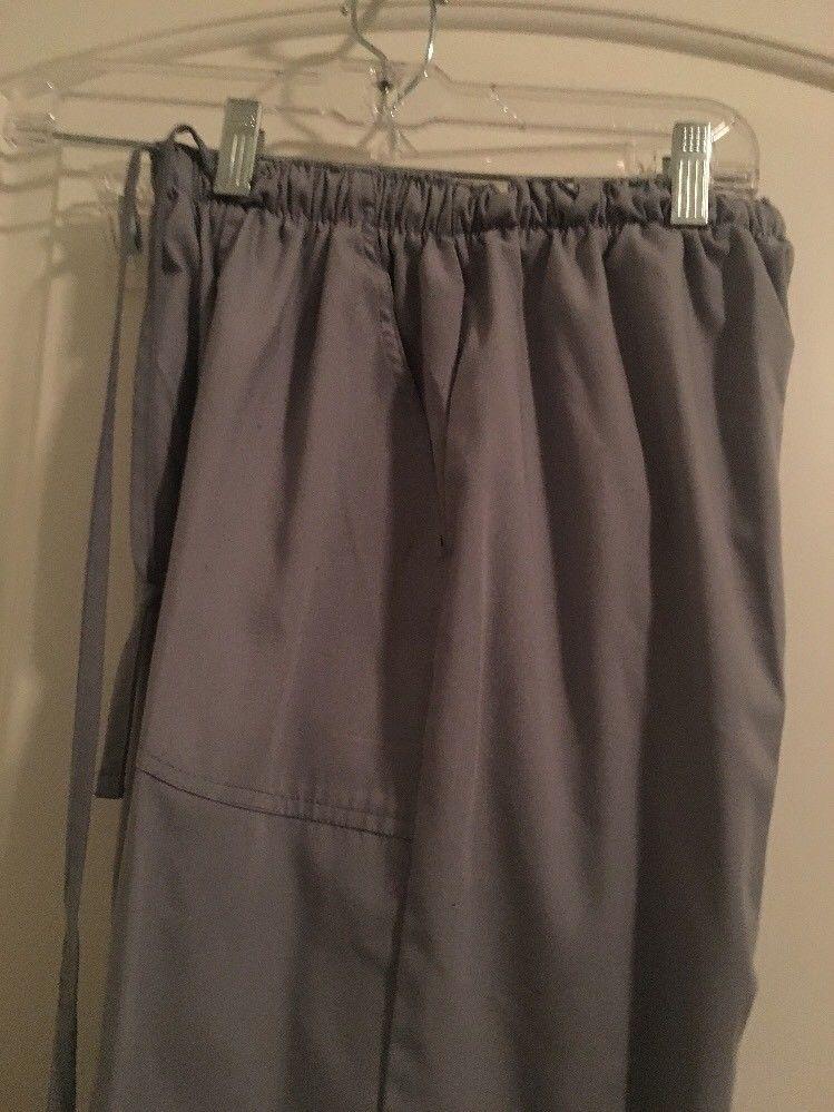 687e65244d8 Denice Women's Scrub Uniform Work Pants Bottoms Gray Sz M Clothes