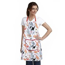 Home-X Cat Print Apron - $17.73