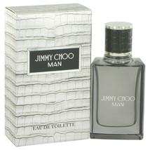 Jimmy Choo Man by Jimmy Choo 1 oz 30 ml EDT Cologne Spray for Men New in Box - $31.30
