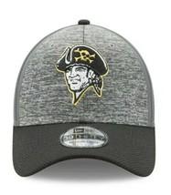 Pittsburgh Pirates MLB Clubhouse Gray & Black Baseball 39THIRTY OSFA Fle... - $27.72