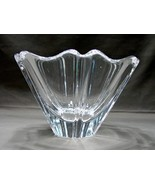 Orrefors Orion Sweden Crystal Star Bowl/Candle Holder - $21.40