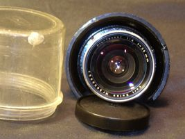 Carl Zeiss Pro-Tessar Lens f=35mm with fitted Zeiss Ikon Case AA-192034 Vintage image 4
