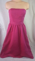 Express womens dress strapless cocktail party empire waist magneta size 2  - $32.71