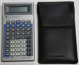 Texas Instruments TI-57 LCD Programmable Calculator Tested Working - $19.75