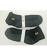 10x Men's Ankle Crew Low Cut Socks Top Quality Wear Black - $9.97