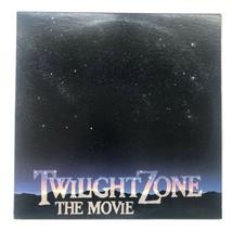 Vintage 1983 Twilight Zone The Movie Soundtrack Score LP Vinyl Record Al... - $24.00