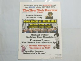 The New York Review of Books 2015 March Miranda July Violence Muslims Br... - $39.99