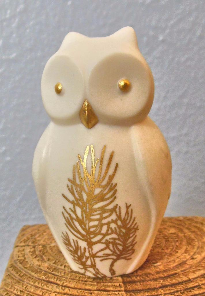 Vintage Lenox Wisdom Owl  Everyday Wishes Series 3""
