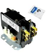 HQRP 24V Single Pole / 1 pole 3 Amp Condenser Contactor fits Bryant P282... - $16.77