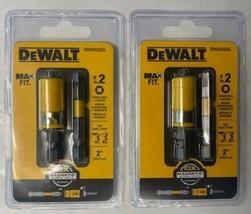 Dewalt DWA2SQ2Sl #2 Square Drive Bits Max Fit With Sleeve 2 Packs - $5.45