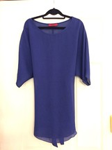 Akira Forever 21 Blue Tie Waist Dolman Tunic Dress SZ Small (MSRP $52) - $112,85 MXN