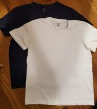 2 men's v-neck tshirts - $9.75