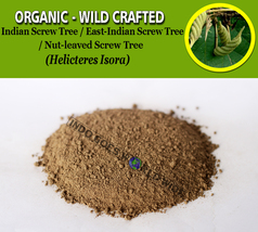 POWDER Indian Screw Tree East-Indian Nut-leaved Screw Tree Helicteres Isora - $7.85+