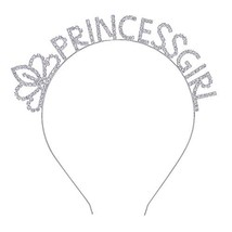 DcZeRong Princess Girls Headband Birthday Hair Band Prom Hair Hoop Costu... - $13.89